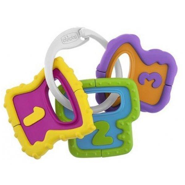 Chicco Chrastítko barevné klíče