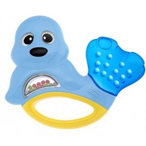 Chicco Kousátko tuleň 3m+ Modrá