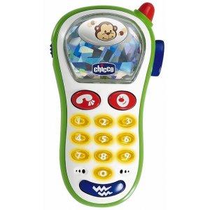 Chicco TELEFON vibrující s foťákem Multicolor