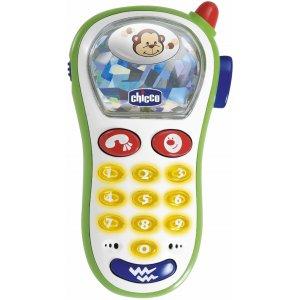 Chicco Hračka telefon s fotoaparátem vibrující 6m+ Multicolor