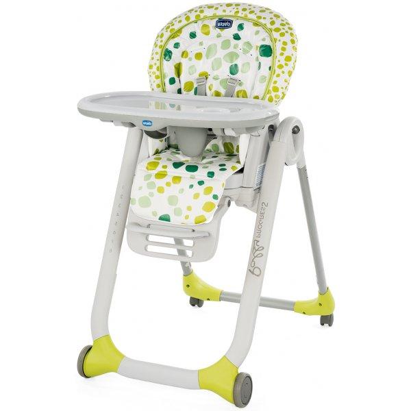 Chicco Židlička jídelní Polly Progres5 Kiwi SP