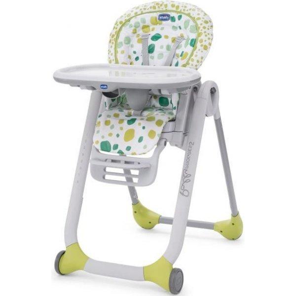 Chicco Jídelní židlička PROGRES5 Kiwi SP