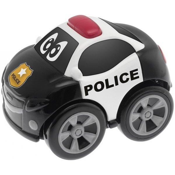 Chicco Autíčko Policie Černá