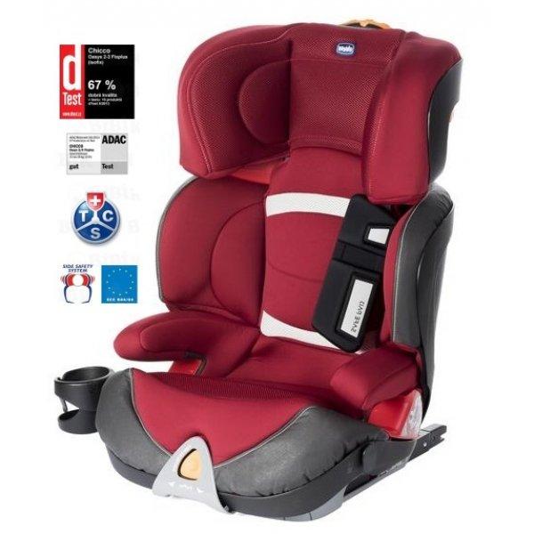 Chicco OASYS 2-3 FIXPLUS EVO autosedačka 2017 Red passion