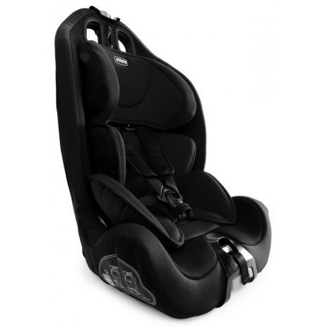 Chicco GRO-UP 123 autosedačka Black night
