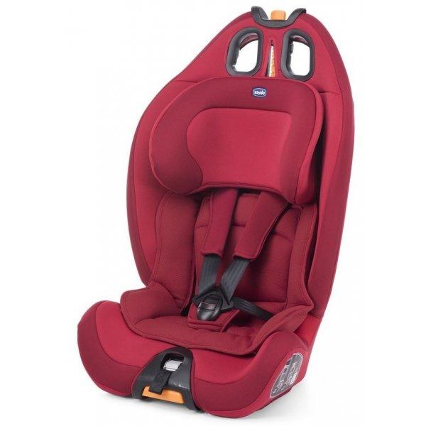 Chicco GRO-UP 123 autosedačka Red passion