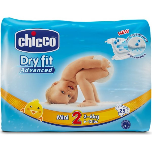 Chicco Plenky Mini 3-6kg, 25 ks