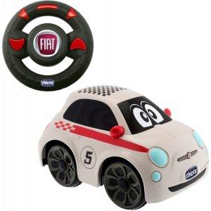 Chicco Hračka autíčko FIAT 500 na dálkové ovládání 2+ Bílá
