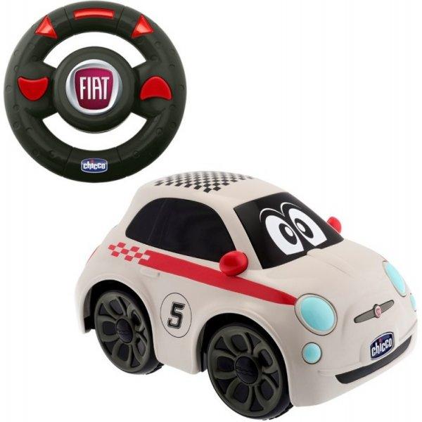 Chicco Autíčko FIAT 500  na dálkové ovládání Bílá