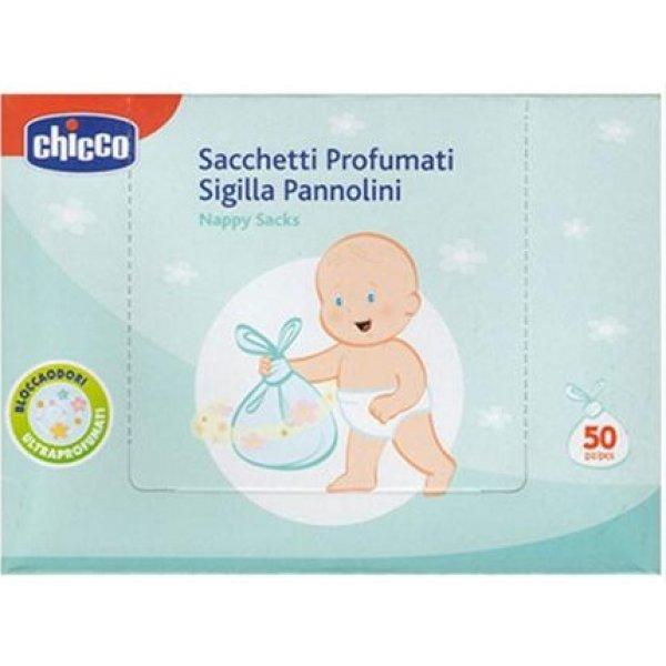 Chicco Parfémované sáčky na pleny, 50 ks