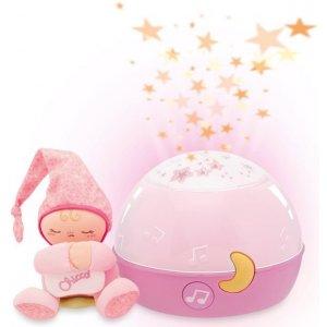 Chicco Projektor GoodNight Stars Růžový