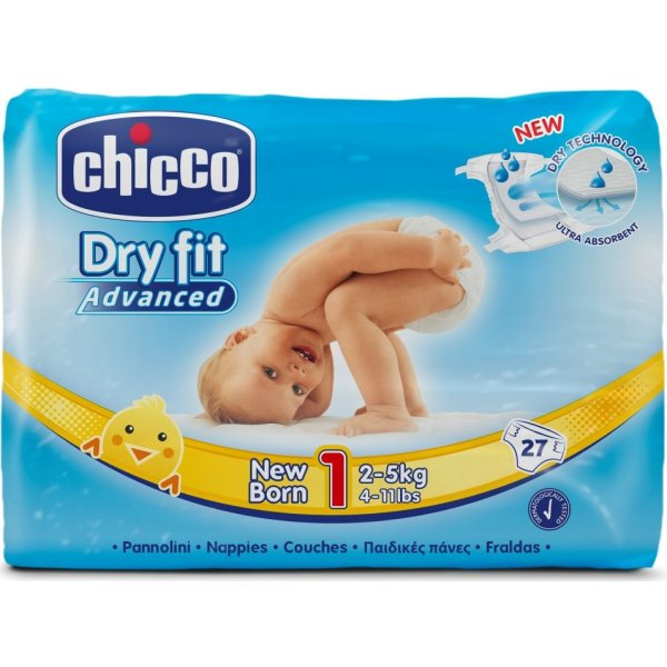 Chicco Plenky Newborn 2-5kg, 27 ks