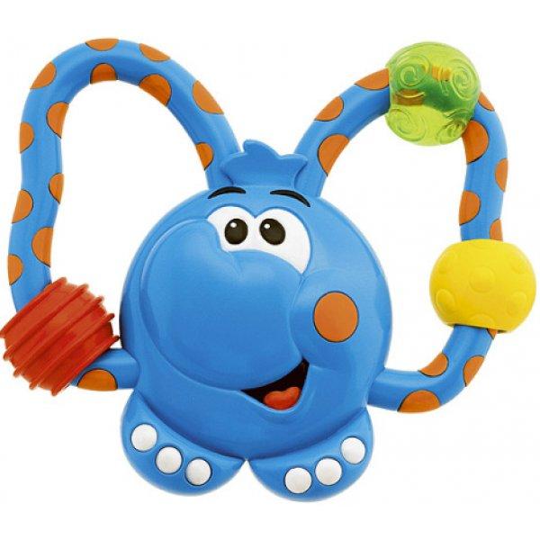 Chicco Kousátko plast - slon Modrá
