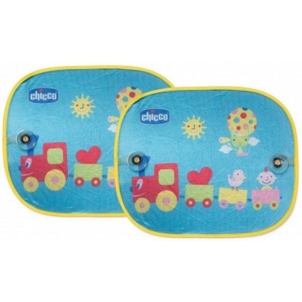 Chicco Sluneční clona do auta, 2 ks Modrá