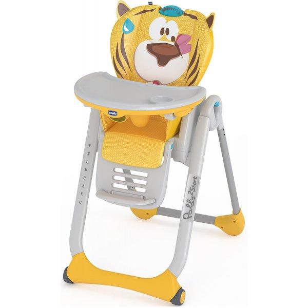 Chicco Židlička jídelní Polly 2 Start PEACEFULL JUNGLE