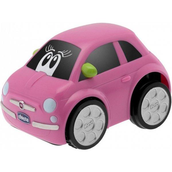 Chicco Autíčko Turbo Touch - FIAT 500 Růžová