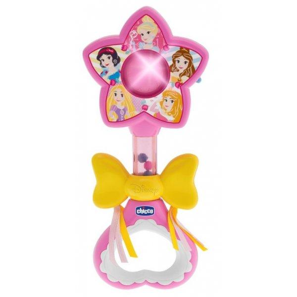 Chicco Chrastítko - Kouzelná hůlka Magic Princess Disney Růžová