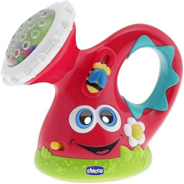 Chicco Chrastítko konvička elektronická Červená