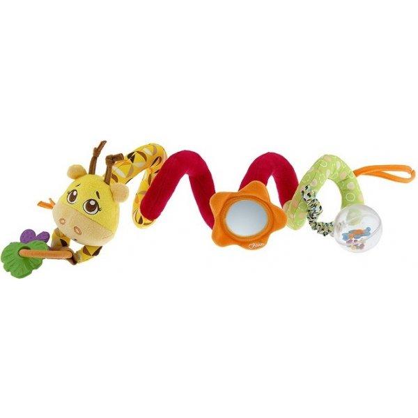 Chicco Hračka spirála na hrazdičku kočárku Žirafa