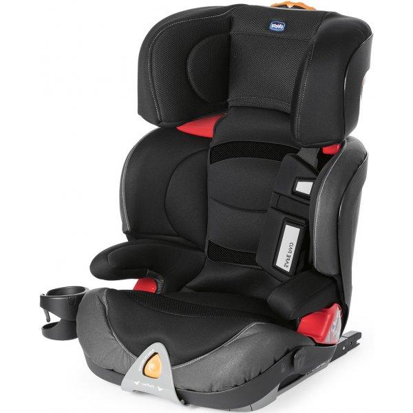 Chicco Oasys 2-3 FixPlus Evo autosedačka 2018 Jet Black