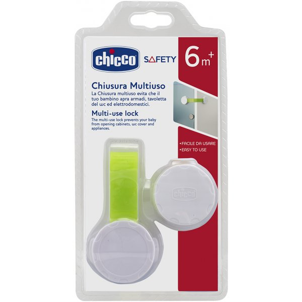 Chicco Uzávěr plastový Multi-lock Bílá