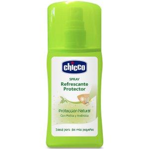 Chicco Sprej proti komárům osvěžující a ochranný, 100ml Zelená