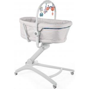 Chicco Postýlka/lehátko/židlička Chicco Baby Hug 4v1 2019 GLACIAL
