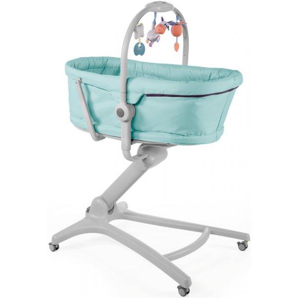 Chicco Postýlka/lehátko/židlička Chicco Baby Hug 4v1 2019 Aquareelle