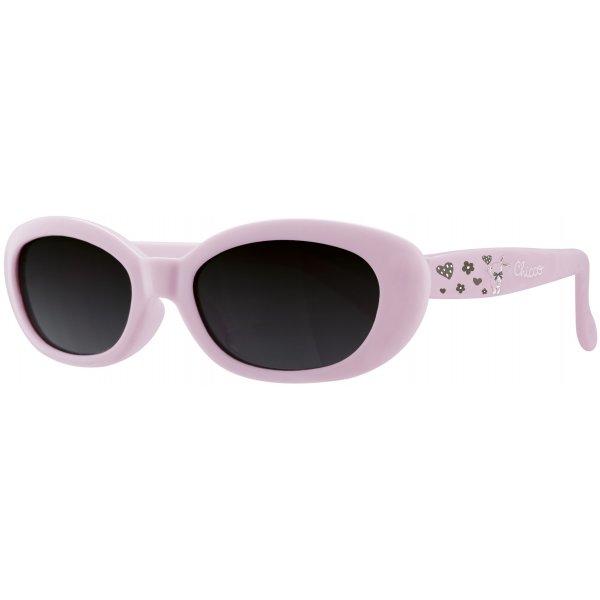 Chicco Brýle sluneční dívka 0M + Bl. růžové