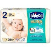 Chicco Jednorázové pleny Ultra Mini 3-6kg 25ks