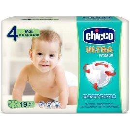 Chicco Jednorázové pleny Ultra Maxi 8-18kg 19ks
