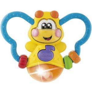 Chicco Kousátko elektronické Svítící brouček Žlutá