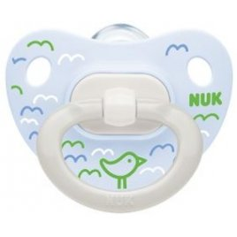 NUK Dudlík HAPPY DAYS,SI,V1 (0-6m.) box