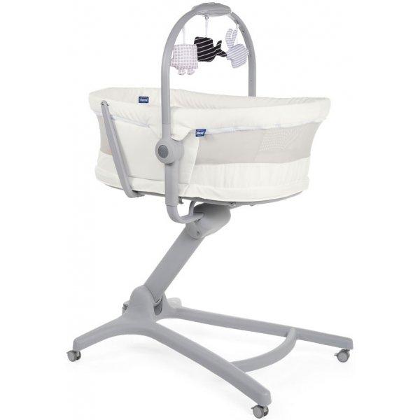 Chicco Postýlka/lehátko/židlička Baby Hug Air 4v1 2020 White Snow