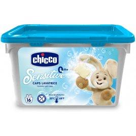 Chicco Tobolky prací gelové Sensitive, 16ks