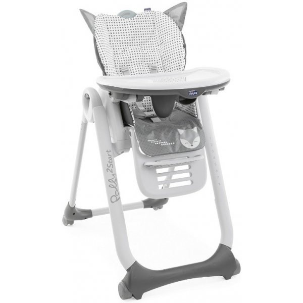 Chicco Židlička jídelní Polly 2 Start Foxy
